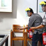 PT. Alkonusa Teknik Interkon Gelar Simulasi Evakuasi Kebakaran